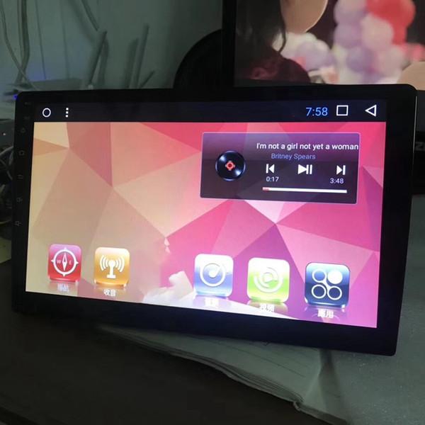 7 pouces de navigation Android machine universelle Grand écran de navigation GPS Hd voiture écran capacitif (Programme Ding Micro 1 + 16)