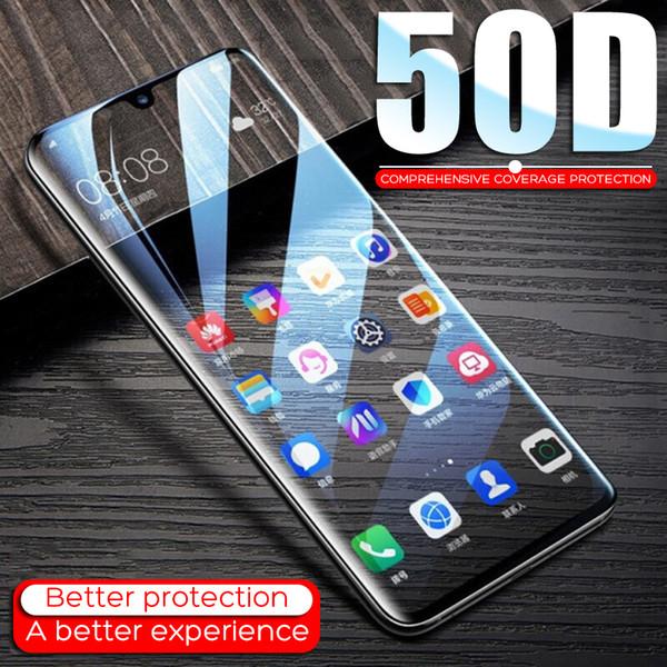 50D Защитное стекло для Huawei P20 P30 Lite Pro P10 Lite Закаленное стекло для Huawei Honor 9 10 10 V10 Защитная пленка для экрана