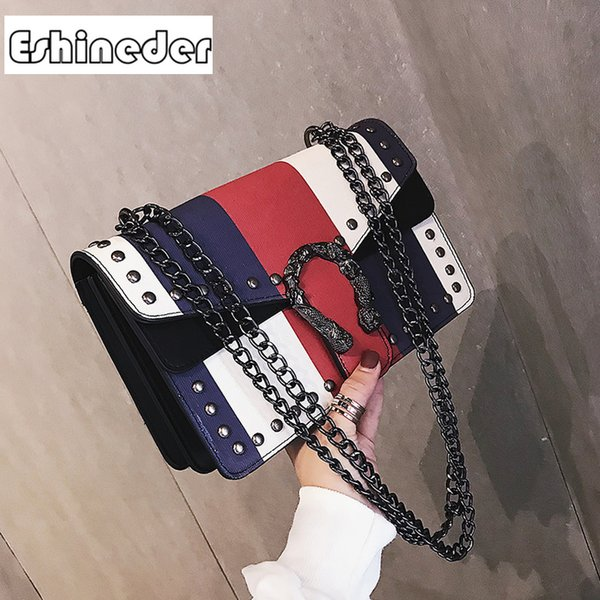 women messenger bag chain shoulder designer bags famous brand handbag fashion pu leather ladies handbag crossbody bags for women