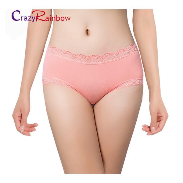 femmes multi-couleurs qualité culotte, sous-vêtements féminins vente chaude coton avec côté dentelle meilleure qualité sexy sexy taille plus