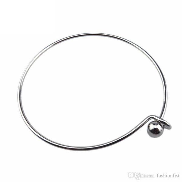 Из нержавеющей стали расширяемый браслет браслет Подвески DIY Pearl Клетка кулон ювелирные изделия Браслеты Браслеты Для Подвеска Медальон клетка браслет