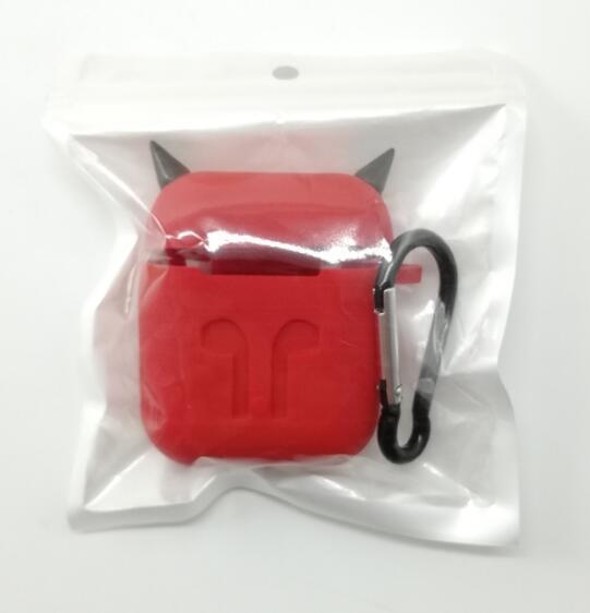 Анти-потерянный рукав Wrap Thicken Dust Proof Защитная кожа с карабином Крючок Силиконовый чехол Наушники Сумка для хранения Сумка n2