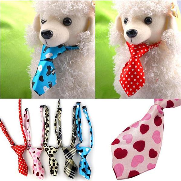 Pet Tie Новая регулируемая Собака Кошка Тедди Pet Puppy Toy Стрижка Bow Tie Галстук Одежда партия Tie Стрижка собак принадлежности LXL1108