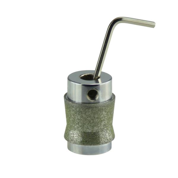 "High Quality Diamond Glass Tools 1"" Angle Bit Chromeplated (MGB1A) Diamond Grinder Bit"