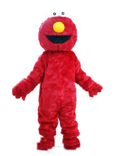 2019 Venda Quente de alta qualidade novo EPE Casal Rua Sésamo Monstro Cookie e ELMO Mascot Costume Adult Cartoon Costume