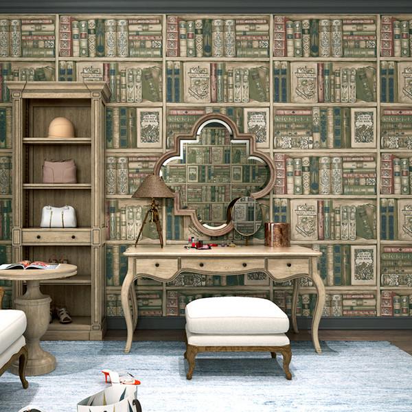 Kapalı Odası Kitaplık Backdrop Fotoğrafçılık Kahverengi Kitaplık Masa Lambası Vintage Halı Foto Dikmeler Kitaplar Arkaplan Resmi Duvar Kağıdı Çekim