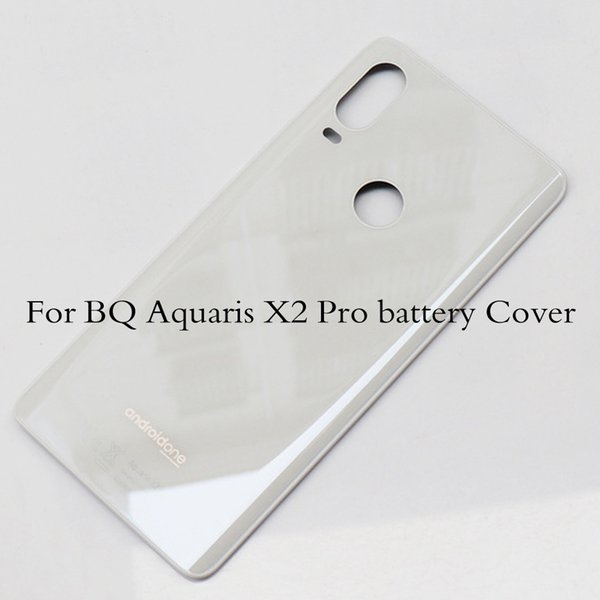 100% Original Battery Cover For BQ Aquaris X2 Pro Back Door Housing Replacement Parts For For BQ Aquaris X2Pro Back door