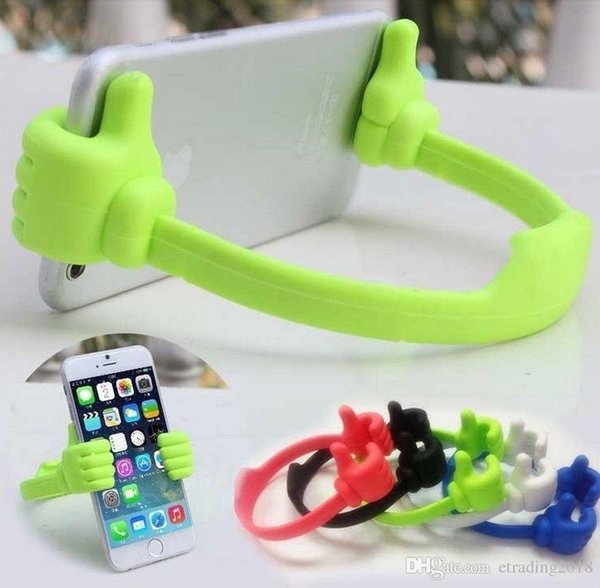 supports de supports de téléphone Supports pour mains mignons support de téléphone permet de regarder votre appareil