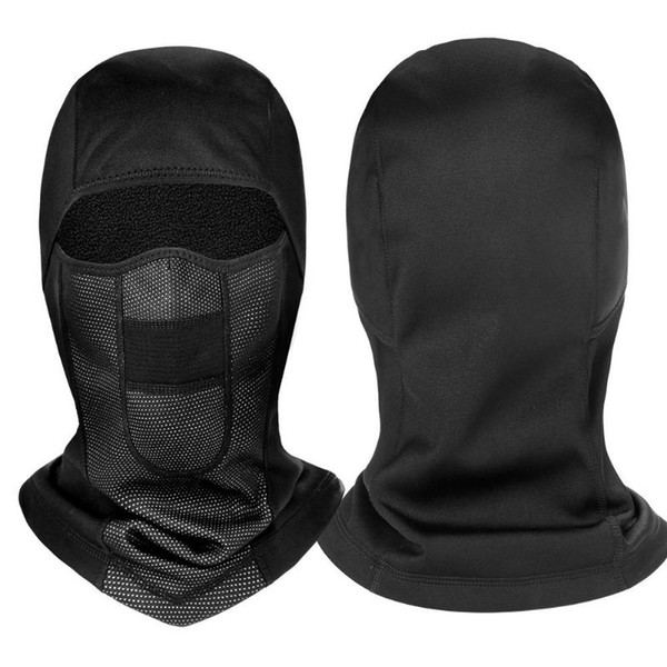 Outdoor Polar Fleece Full Face Mask Sport Scarf Bicycle Hat Cycle Thermal Winter Windproof Cap Riding Equipment Mask