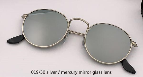 019/30 espelho de prata / mercúrio