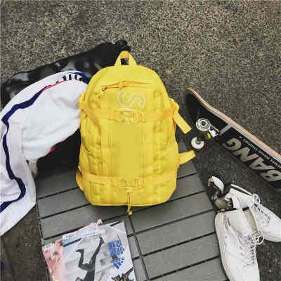 Zaino firmato Brand Bcakpack con borsa da scuola per uomo Zaino donna 4 colori disponibile New Fashion Hip Hop 11
