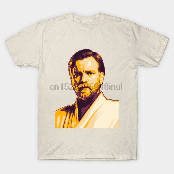 tshirt uomo breve manicotto Obi wan Film maglietta Donne tshirt