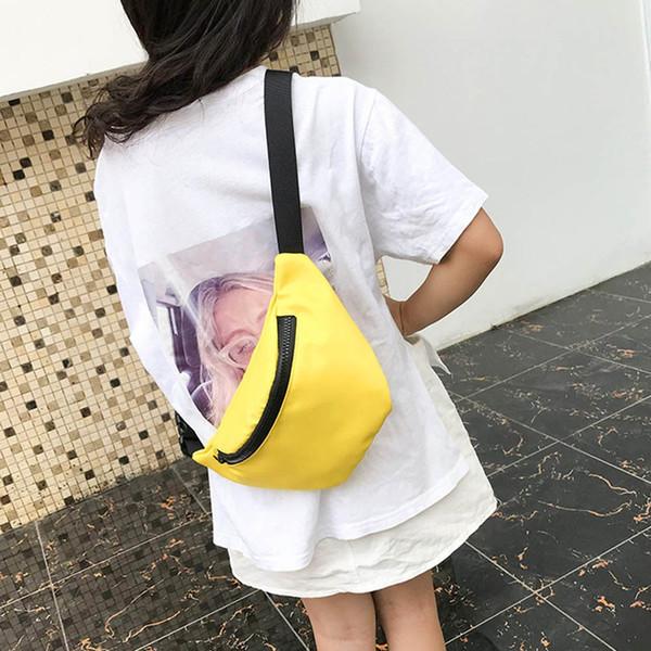 Bagpack em Diapacks Casuais das Mulheres Moda Infantil Saco Da Cintura No Peito Moeda Bolsa Snack Pack