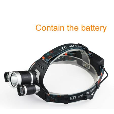 Contain the battery
