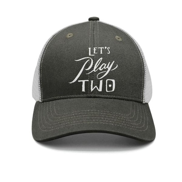 Pearl Jam Let's Play Two army-green for men and women trucker cap ball cool fitted plain hats