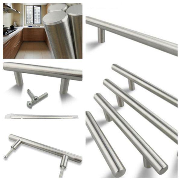 New Model T handles is suitable for door handle, drawer handle, wardrobe handles, stainless steel shoe cabinet handle T2I5111
