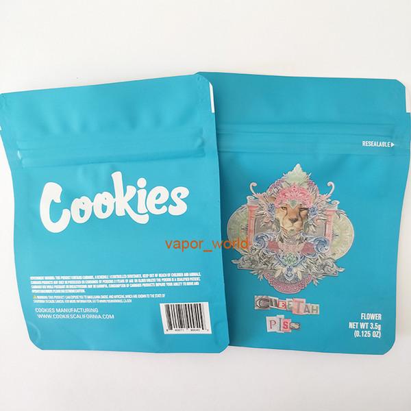 cookies guépard sacs