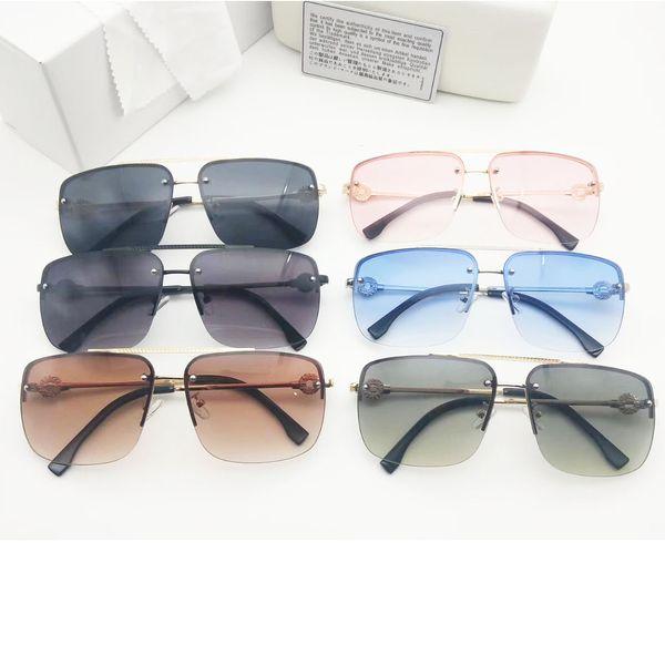 Occhiali da sole Explosion con montatura in metallo per donna e uomo Occhiali NICE FACE Occhiali da sole con visiera di marca Occhiali da equitazione di alta qualità 3 colori