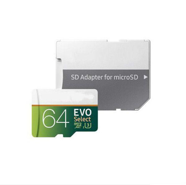 16GB/32GB/64GB/128GB/256GB EVO Select Plus micro sd card/smartphone TF card/Real capacity SDXC Storage card 100MB/S