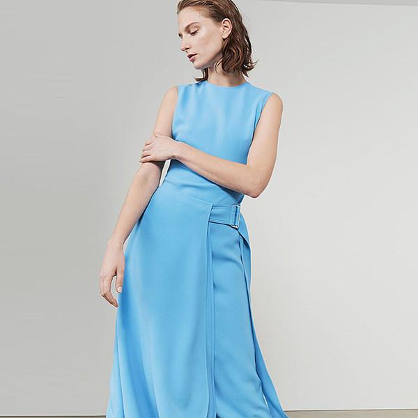 Длинное платье Милан взлетно-посадочной полосы дизайнер высокого качества 2019 лето новая женская мода ну вечеринку работа сексуальные старинные элегантные шикарные платья жилет
