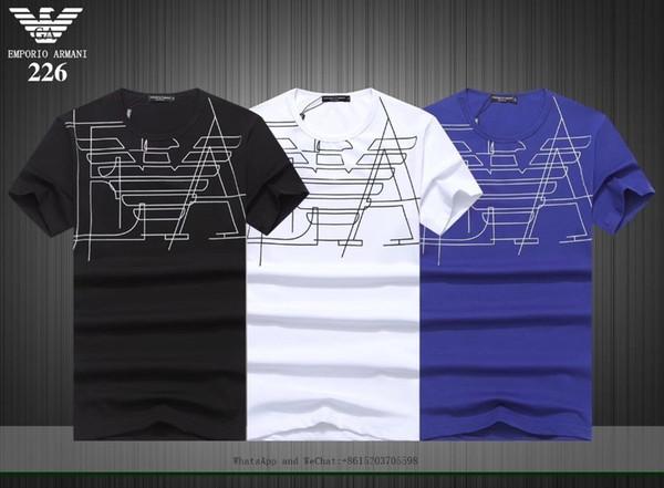 Homem de verão de ventilação e perspiração homens de algodão puro de manga curta t-shirt tendência magro masculino clothing0228