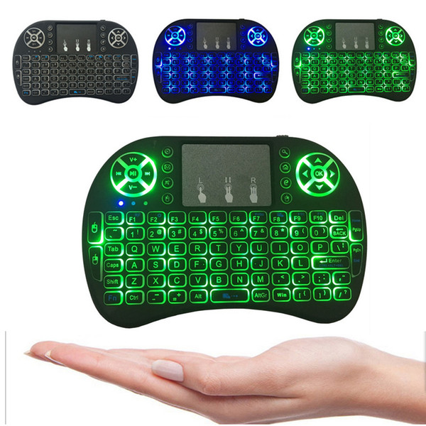 best selling 2019 Mini I8 Wireless Keyboard 2.4G English Air Mouse Keyboard Remote Control Touchpad for Smart Android TV Box Notebook Tablet Pc Hot