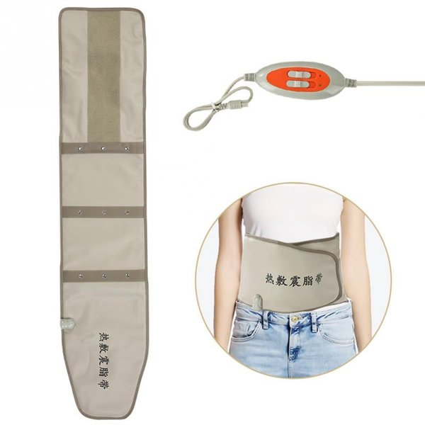 New Hot Compress Far Infrared Heating Slimming Belt Vibrating Weight Loss Massager Fitness Device