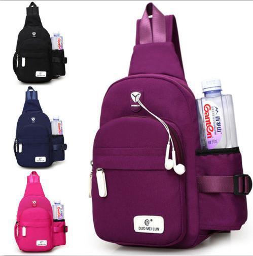 Fashion Crossbody Shoulder Chest Cycle Sling Bag Travel Backpack for Men Women