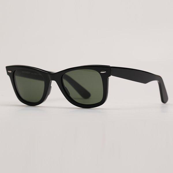 black-deep green lenses