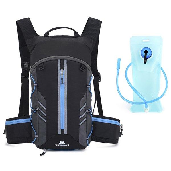 Azul con bolsa de agua