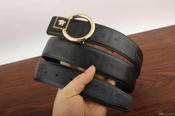 2019 new buckle Hot Sale Unique Retro Genuine Leather Women Belt Cowhide Strap All Match Jeans Female Belts For Women High Quality
