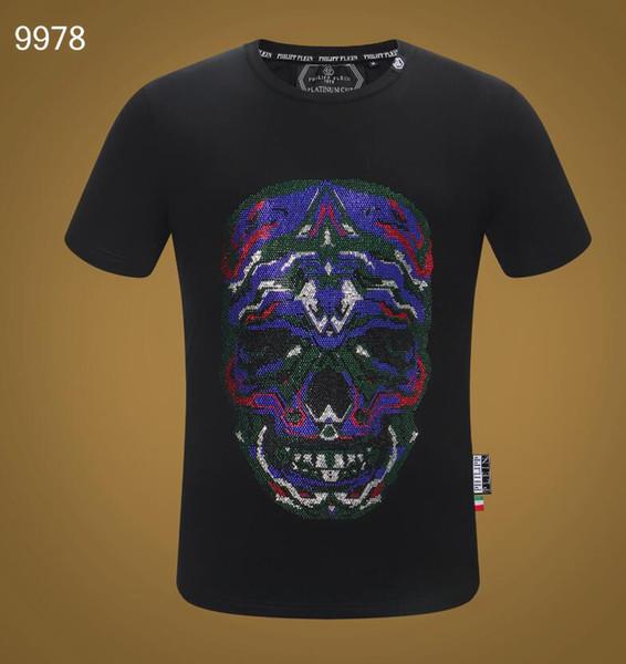 2019 Brand Design Summer Street Wear Europe Fashion Men High Quality Cotton Tshirt Casual Short Sleeve Tee T-shirt #6956