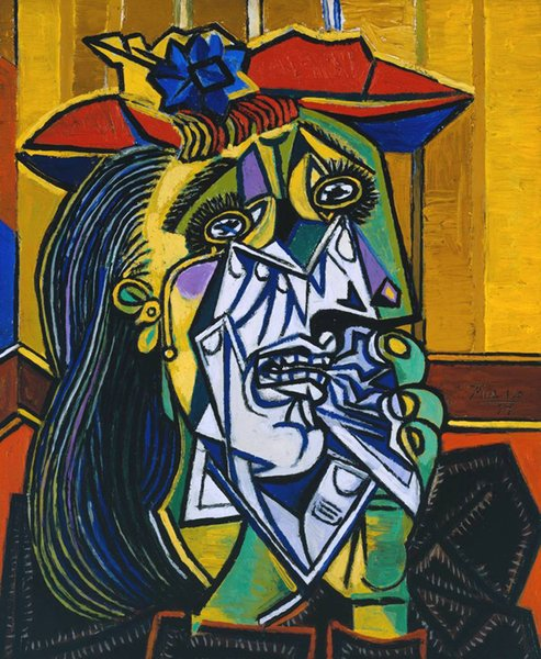 2019 Pablo Picasso Abstract Art Two Faces Of Woman Oil Painting Reproduction High Quality Giclee Print On Canvas Modern Home Art Decor From Xmqh2017