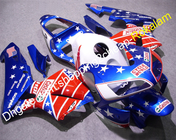 CBR 600 RR 2003 F5 Fairing For Honda Cowlings Parts CBR600RR F5 2004 600-RR 03 04 Cheap ABS Motorcycle Fairings Kit (Injection molding)