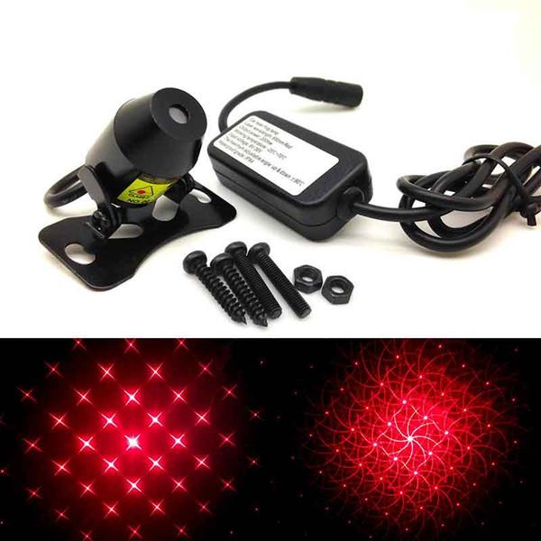 1PC Voiture Laser Brouillard Lampe Anti-Brouillard Lumière Auto-Élevage Signal Réchauffement Lumière 12 V
