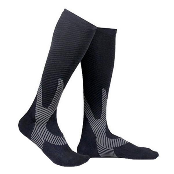 Sport Socken Fußball Leggings Laufen Druck Kompression Männlich Weiblich Outdoor Lange Röhre Knieformung Weiche Saugfähige Socken Neu