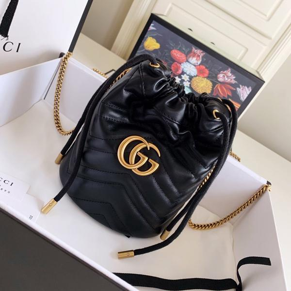 High Quality Women Fashion Luxury Handbag Women Handbag Fashion Messenger Bag Luxury Handbag Mini Bucket Bag Size 17x19x10cm