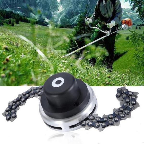 Universal Lawn Mower Chain Trimmer Head Chain Brushcutter for Trimmer Garden Grass Brush Cutter Tools Spare Parts Grass Mower