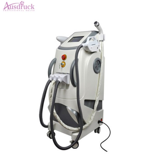 3 in 1 E light IPL Hair Removal Yag Laser Tattoo Removal RF Body face eye treatment Skin Rejuvenation beauty equipment Machine