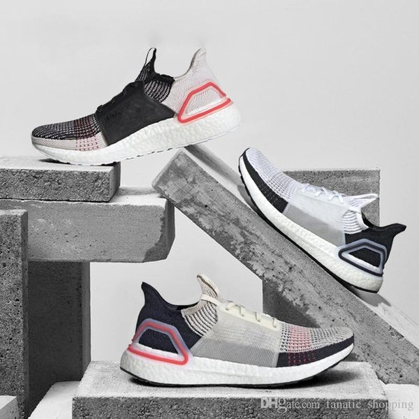21d5ac2fd5cb5 Nuevo Ultra Boost 2019 Zapatillas de running para hombre Ultraboost 19 Mujer  Oreo REFRACT Zapatillas deportivas
