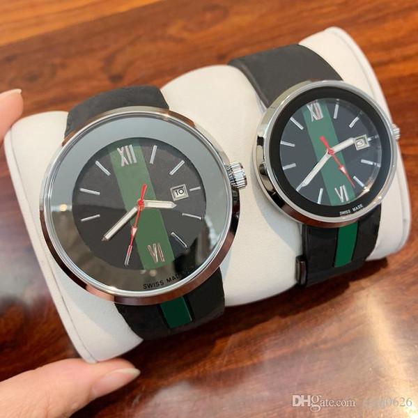 2019 Лучшие моды женщин часы Мужские хронограф кварцевые часы Sport Man Дата высокого качества роскошные наручные часы дизайн Nice резинкой