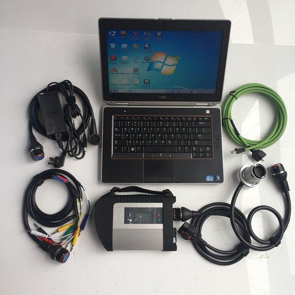 2019.05 mb yıldız diadnostic-aracı c4 + E6420 dizüstü i5 CPU 4 GB + SSD Tam Set otomatik tarayıcı mb yıldız c4 SD Tanı Teşhis