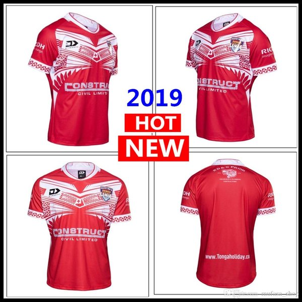 tongas 2019 maillot de la ligue 2020 TONGA NATIONL LEAGUE maillot rugby maillot maillot maillot de la ligue Training Singlet grande taille s-5xl