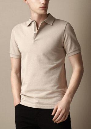Wholesale Solid Mens London Brit Polo Shirts Cotton Short Sleeve Camisas UK Polos Summer Lapel Male Polo Shirt Beige Black S-XXL