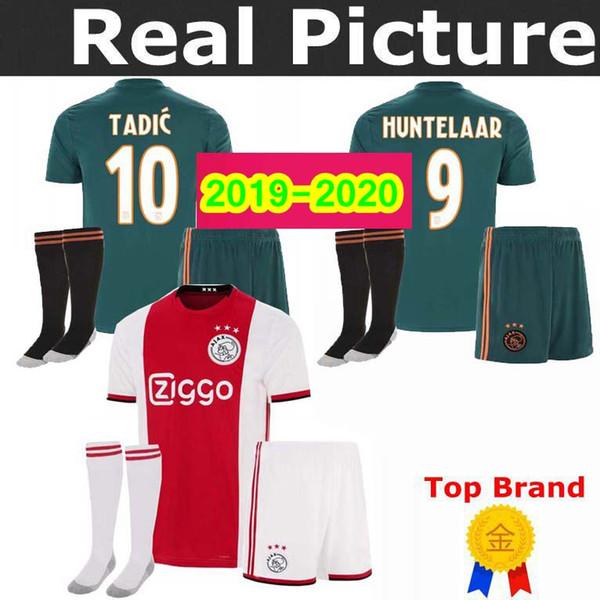 19 20 Ajax KIDS Jersey home Childs ZIYECH Soccer Jerseys away Soccer Shirt 2019 #10 TADIC DOLBERG 25 HUNTELAAR 9 #22 ZIYEC football uniform