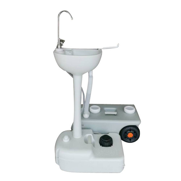 CHH-7701C Portable Removable Outdoor Wash Basin with Faucet Garden Pipe Joint