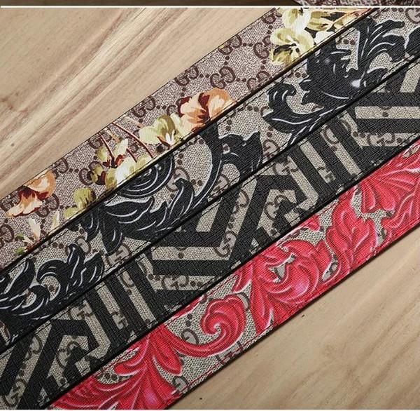 2019 correas de cinturón de alta calidad de lujo de diseño cinturones de hebilla de cinturón de marca de marca para hombres y mujeres hombres de la correa de cuero de las correas de cintura