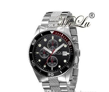 Top quality 2 YEAR WARRANTY Fashion quartz chronog watch mens wrist watches AR5857 ar5855 wholesale free shipping