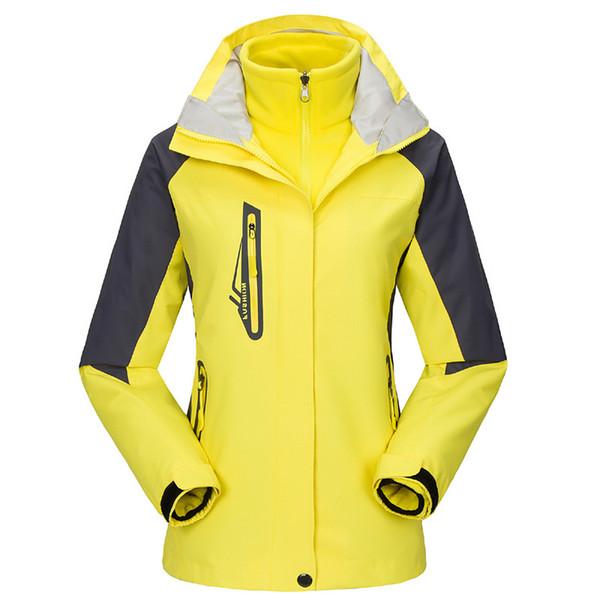 Chaqueta al aire libre de las mujeres de invierno transpirable de secado rápido impermeable a prueba de viento rompevientos esquí acampar senderismo ropa de viaje