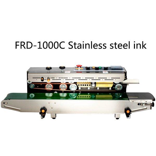 best selling FRD-1000C plastic bag aluminum foil bag kraft paper warm baby warm paste automatic belt machine